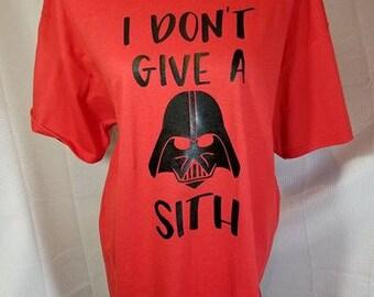Darth Vader I Don't Give A Sith Tee