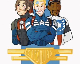 CapSquad Print