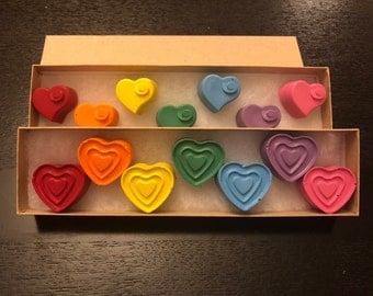 Valentine's Crayon Gift Set-Kids Valentines gift
