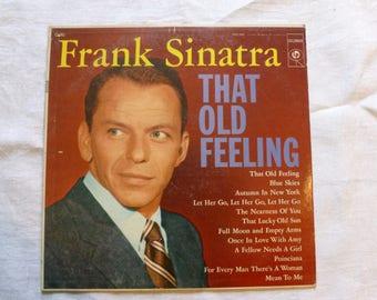 VINYL: That Old Feeling, Frank Sinatra