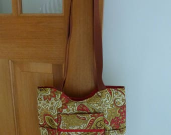 Bag - Tote bag with outer pockets