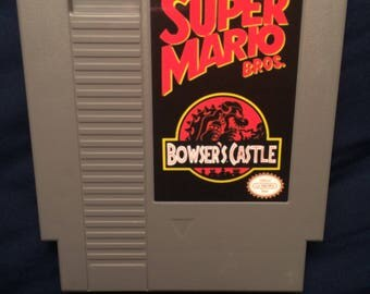 Super Mario Bros. Bowser's Castle NES Game