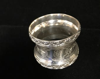 Sterling Silver Napkin Ring