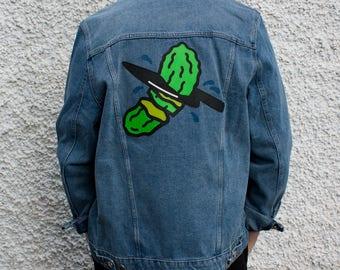 Pickles Customized Denim Jacket Size XL