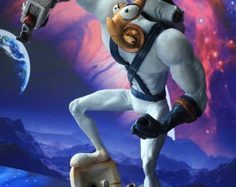 Earthworm Jim Figure