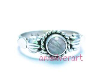 Labradorite ring, Labradorite Stone Ring, Labradorite Silver Ring, Silver Ring, Handmade Ring, 92.5 Sterling Silver, Boho Ring