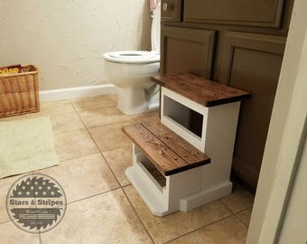 Kids 2-System Step Stool