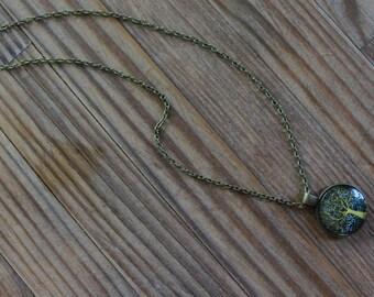 Yellow tree Premium Pendant Necklace