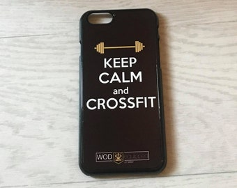 Keep Calm and CrossFit - Phone Case