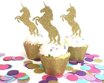 Unicorn Cupcake Toppers, Unicorn Birthday Party, Unicorn Baby Shower, Unicorn Bachelorette, Unicorn Cupcake Topper, Unicorn Cake Topper