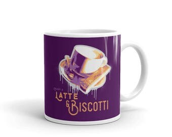 Latte + Biscotti Mug | Relaxing | Coffee | Spirituality | Gift Idea