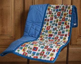 handmade baby quilt, baby blanket, quilt, baby shower gift, baby bedding, nursery decor, crib blanket, handmade gift, home decoration