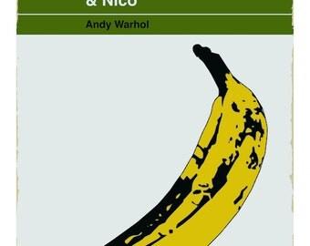 The Velvet Underground and Nico Pelican Book fine art giclée print
