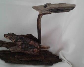 Natural handmade driftwood art
