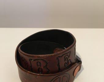 Leather Bracelet - Wrap-around - Beloved