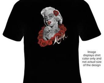 Marilyn Sugar Skull tattoo
