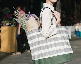 Shoulder Bag - L Size - Waterproof - Pastel Green-(3-5 Days Shipping)