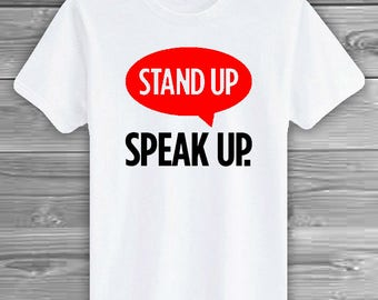 ANTI-BULLYING   Stand Up, Speak Up! Support for Bullying, Anti-Bullying, Say No to Bullies, Pink Shirt Day, Anti-Bullying Movement