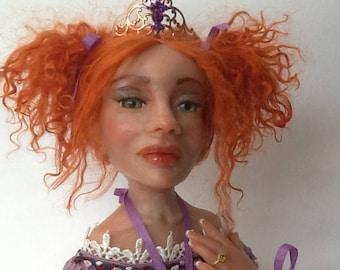 Purpetta Ballerina Art Doll
