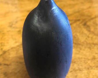 Rose Cabat Feelie - Charcoal Black plus hints of eggplant JC37
