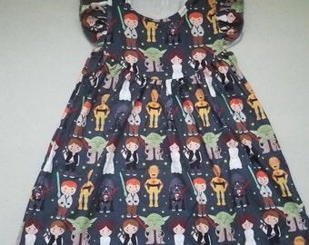 Toddler Girls Star Wars Dress
