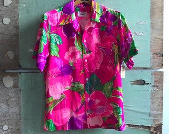 1960's Small Pomare Aloha Shirt