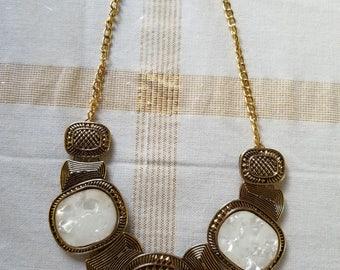 Chunky Choker Pendant Necklace