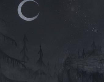 "Lucas Allen Cook  ""Disintegrating Night"""
