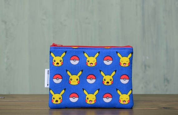Pokemon Pikachu zipped pouch