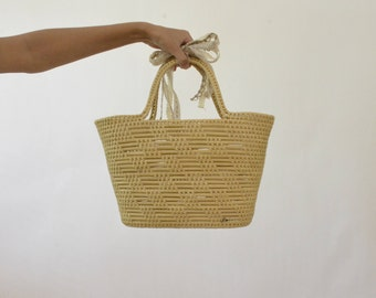 Straw Woven Market Tote/basket.  Never used.