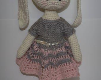 Bunnies, stuffed animal, handmade, Germany