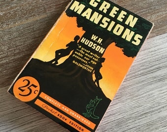 Green Mansions by W.H. Hudson (Pocket Books, 1939) #16