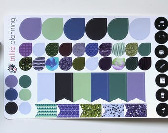 Purple and Green Functional Sheet