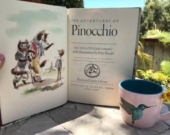 1985 Pinocchio by C Collodi Illustrated Junior Edition