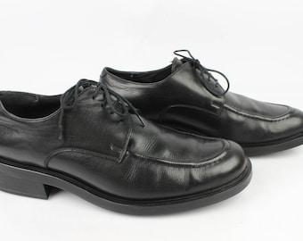 Vintage KENZO black Uk 10.5 men Derby / Fr 45 condition 1431
