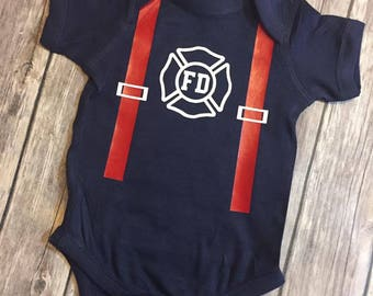 Fire Department Onesie