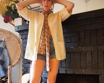 Vintage Embroidered Cotton Jacket