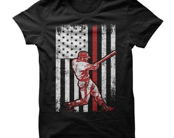 Baseball Shirt, American Flag Baseball shirt, USA Flag Baseball shirts, Baseball shirts, American Flag shirt, Baseball t-shirt, Baseball tee