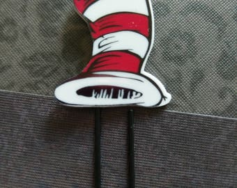 Cat in the Hat Planner Clip