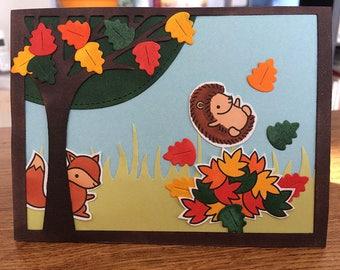 Card Fall Joy
