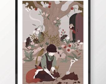 The Secret Garden Print 4/6
