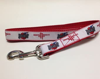 Red Rockets Inspired Dog Leash, Red Leash, Rockets Inspired Leash, Heavy Duty Leash, Dog Leash
