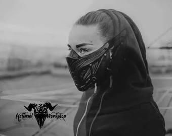 Cyber Punk Half Mask