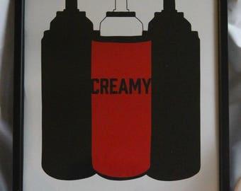 Creamy Print