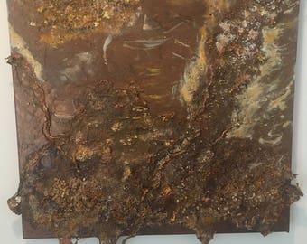 Painting Bronze