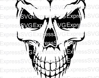 Skull digital file, svg, cdr, eps, png
