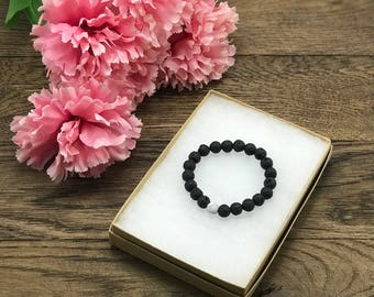 Lava Bead Bracelet, Mothers Gift, Mothers Day Jewelry, Mothers Day Gift, Diffuser Bracelet, Essential Oil Diffuser Bracelet, Beaded Bracelet