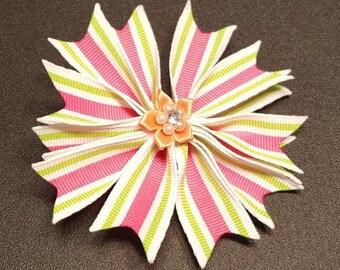 Spike Flower Hair bow