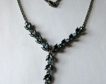 vintage drop necklace
