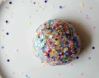 Unicorn Dreams Glitter Bomb Super Crunchy Slime